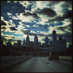 Photo taken at Vine Street Expressway by Stacey M. on 12/22/2012