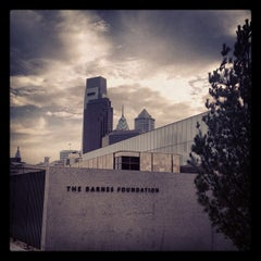 Photo taken at The Barnes in Philadelphia by Stacey M. on 12/2/2012