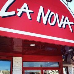 Photo taken at La Nova Pizzeria by Sergio R. on 3/9/2013