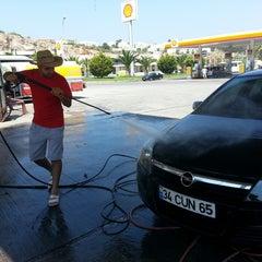 Photo taken at Shell by Sedat K. on 8/11/2014