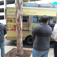 Photo taken at Mandoline Grill Truck by Susie S. on 5/6/2013