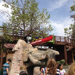 Photo taken at Camp Snoopy by Morgan M. on 4/7/2013