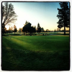 Photo taken at Valley Hi Country Club by Tired T. on 3/11/2013