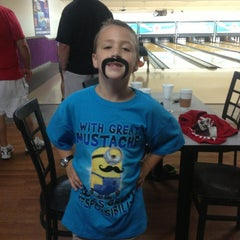 Photo taken at Royal Lanes Bowling Alley by Nicole P. on 9/14/2013