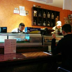 Photo taken at Sushi Toni by Danielle W. on 12/5/2015