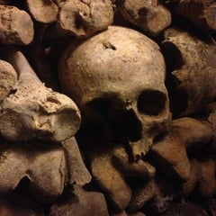 Photo taken at Catacombes de Paris by SillyCamilly on 4/5/2013