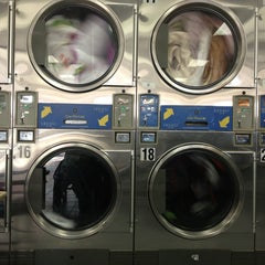 Photo taken at Super Bright 24 Hour Laundromat by Eduardo F. on 3/19/2013