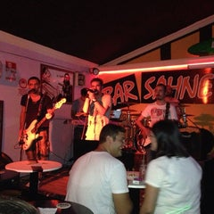 Photo taken at Bar Sahne by Miray A. on 7/26/2013