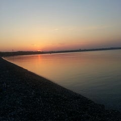 Photo taken at Beach Park by Nurcan D. on 5/6/2013