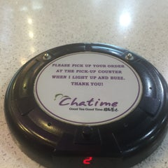 Photo taken at Chatime by Anna Katrina Y. on 9/23/2015