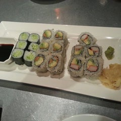 Photo taken at Wild Ginger by Stephanie on 2/23/2013