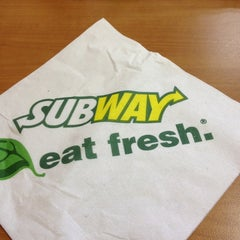 Photo taken at SUBWAY by Edwin R. on 7/2/2013