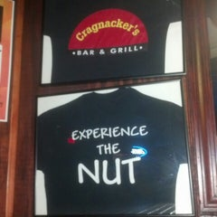 Photo taken at Cragnackers Bar & Grill by Amanda J. on 7/16/2013