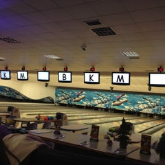 Photo taken at Cosmic Bowling by Suat S. on 4/10/2013