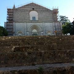 Photo taken at Chiesa di San Fortunato by Antonella M. on 9/27/2014