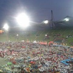 Photo taken at Olympiastadion by Sascha P. on 7/18/2013
