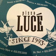 Photo taken at Pizza Lucé by Twin Town G. on 4/12/2013