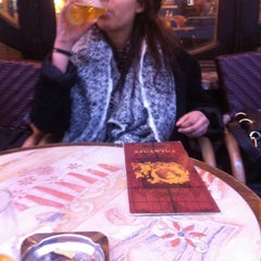 Photo taken at Le Falstaff by Marguerite on 3/4/2015