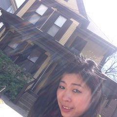 Photo taken at Martin Luther King Jr. Birth Home by Elaine N. on 4/5/2015
