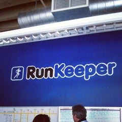 Photo taken at RunKeeper by Tristan N. on 3/27/2014