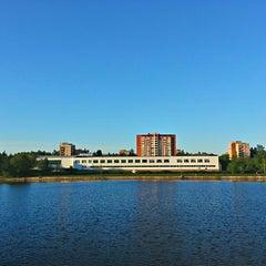 Photo taken at Ольгинский пруд by Daniil I. on 5/21/2013