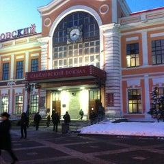 Photo taken at Савеловский вокзал / Savyolovsky Rail Terminal by Sergey B. on 3/26/2013
