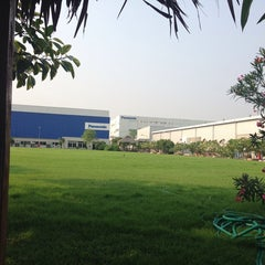 Photo taken at Panasonic Manufacturing (Thailand) Co.,Ltd. by A-air D. on 3/20/2014