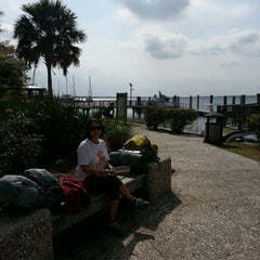 Photo taken at Cumberland Lady (ferry To Cumberland Island) by Mike R. on 4/7/2013