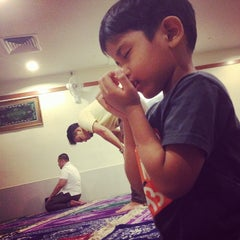 Photo taken at Surau KLCC by Muhammad Amiruddin B. on 1/19/2014