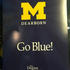 Photo taken at University of Michigan Dearborn by Shawn S. on 11/20/2014