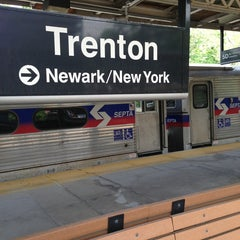 Photo taken at NJT - Trenton Transit Center (NEC) by David ⚡. on 5/16/2013