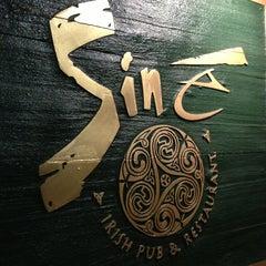Photo taken at Sine Irish Pub & Restaurant Arlington,Va by David ⚡. on 3/31/2013