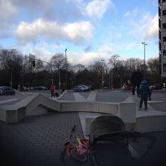 Photo taken at Stadspark by Jochanan E. on 12/21/2015