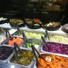Photo taken at The Hummus & Pita Co by Toby F. on 3/17/2013