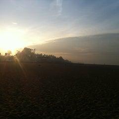 Photo taken at Kollam Beach by Vineeth J. on 11/6/2012