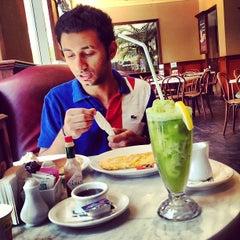Photo taken at Dôme Café by Yaser T. on 5/21/2013