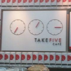 Photo taken at Take Five Cafe Richmond Centre by Phil H. on 9/15/2012