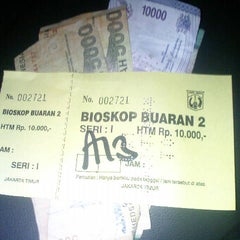 Photo taken at Buaran Theater by Diah N. on 12/22/2012