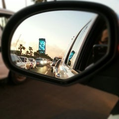 Photo taken at King Abdulaziz Road | طريق الملك عبدالعزيز by Tariq B. on 11/29/2012