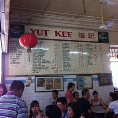 Photo taken at Yut Kee Restaurant (鎰記茶餐室) by Sarah C. on 1/6/2013