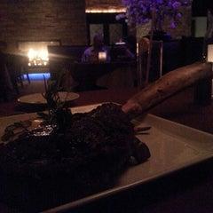 Photo taken at Barona Steakhouse by Valentino V. on 5/16/2014