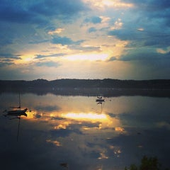 Photo taken at Wiscasset, ME by Jeremy M. on 8/7/2014