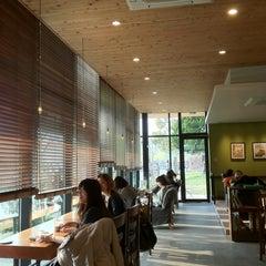 Photo taken at Starbucks Coffee 福岡大濠公園店 by Alesa H. on 3/23/2013