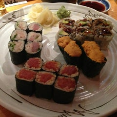 Photo taken at Takahachi by East Village Eats on 3/12/2013
