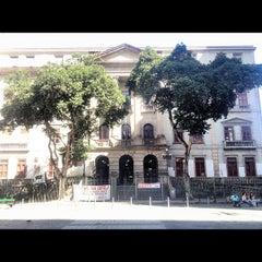 Photo taken at Instituto de Filosofia e Ciências Sociais (IFCS) by DC on 7/27/2012