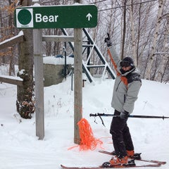 Photo taken at Whiteface Mountain by Chris G. on 12/29/2012