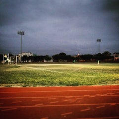 Photo taken at Unidad Deportiva by Julian C. on 5/18/2015