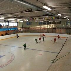 Photo taken at Talsu hokeja klubs (Talsi Ice Hockey club) by Iveta P. on 10/19/2013