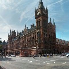 Photo taken at London St Pancras International Railway Station (STP) by Nick H. on 7/14/2013