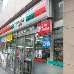 Photo taken at サンクス 渋谷3丁目店 by Masami W. on 7/4/2013